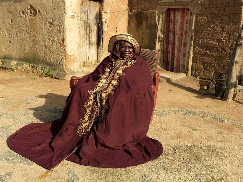 George Osodi, 'HRH Queen Hajiya Hadizatu Ahmedu magajiya of Knubwada', 2012, Photography, C-print, TAFETA