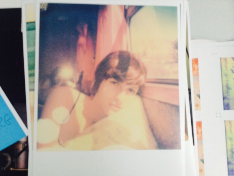 Stefanie Schneider, 'Full of Dreams (The Girl behind the White Picket Fence)', 2013, Photography, Digital C-Print, based on a Polaroid, Instantdreams