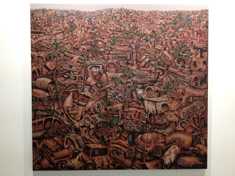 Yarno, 'The Growth, AoC', 2013, Painting, Galeri Apik