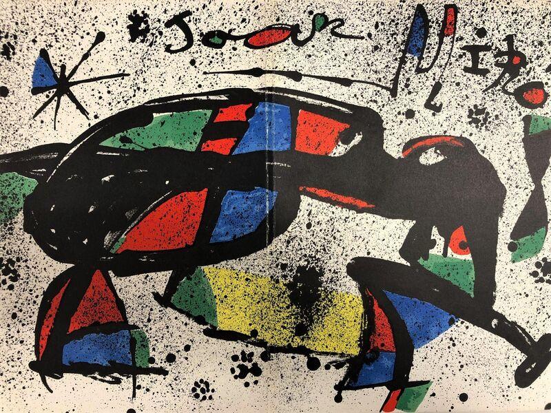 Joan Miró, 'Dibuixos, Gouaches, Monotips 1', 1978, Print, Original lithograph on paper, Samhart Gallery