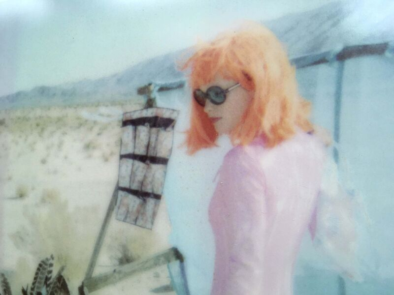 Stefanie Schneider, 'Feathered (Stage of Consciousness) - Featuring Australian actress Radha Mitchell', 2007, Photography, Digital C-Print, based on a Polaroid, Instantdreams