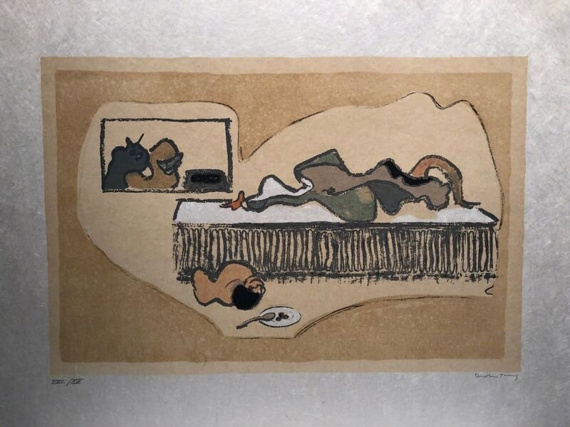 Dorothea Tanning, 'Untitled', ca. 1985, Print, Color etching, Anders Wahlstedt Fine Art