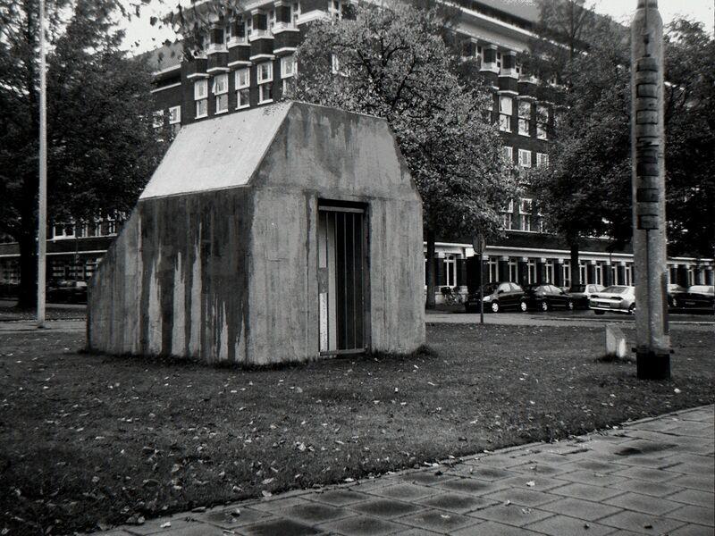 Harold De Bree, 'Entrance B5', 2009, Installation, Wood, Tile Glue & Steel, West Den Haag
