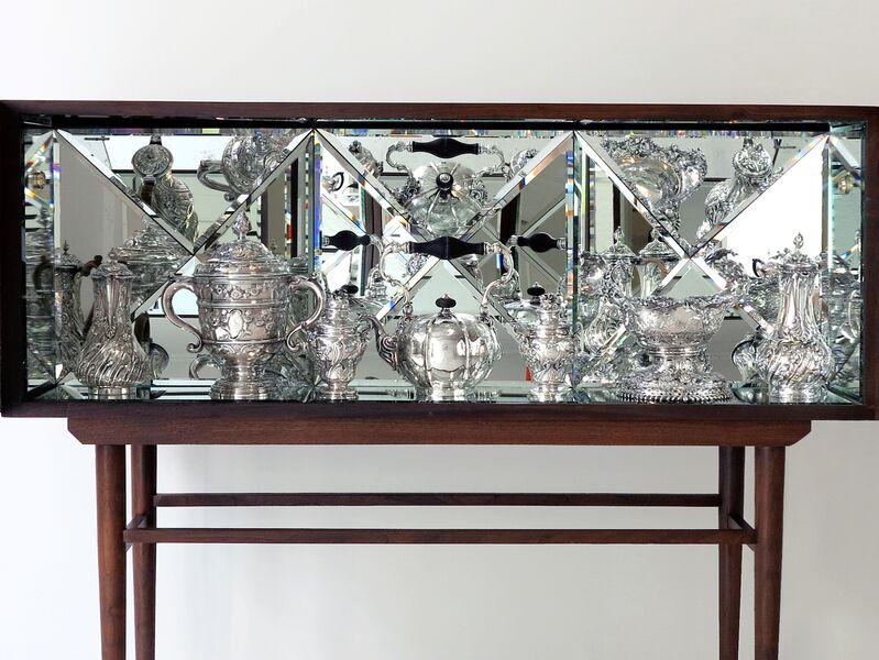 Sebastian Errazuriz, 'Kaleidoscope', 2013, Design/Decorative Art, Walnut and mirrored glass, Cristina Grajales Gallery
