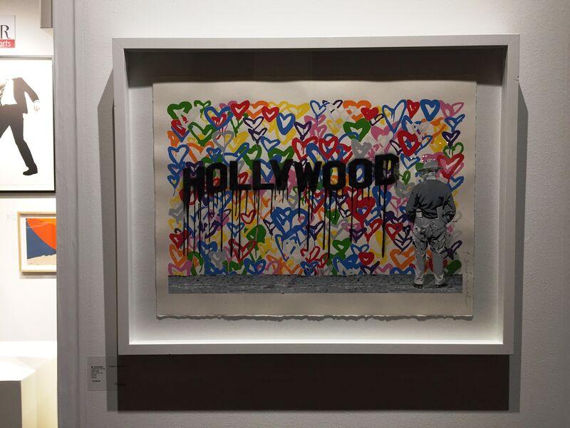 Mr. Brainwash, 'Hollywood, 2016', 2016, Print, Silkscreen, Adamar Fine Arts