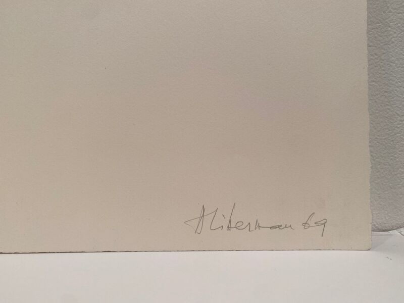 Alexander Liberman, 'Untitled', 1969, Print, Lithograph, Anders Wahlstedt Fine Art