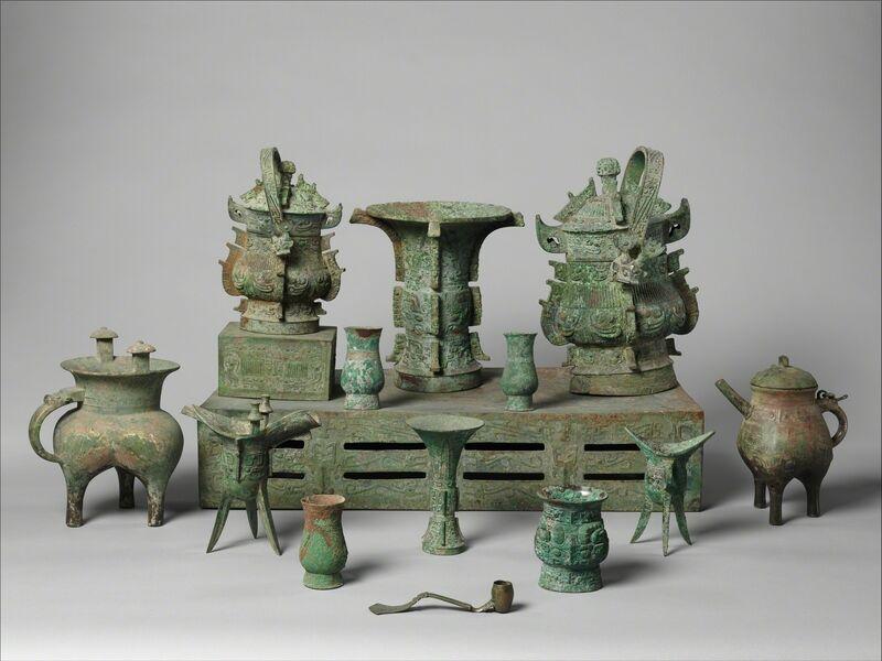 Unknown Chinese, 'Altar Set', late 11th century B.C., Design/Decorative Art, Bronze, The Metropolitan Museum of Art