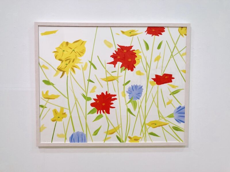 Alex Katz, 'Wildflowers', 2017, Print, Screenprint on Saunders Waterford 425 gsm paper., Frank Fluegel Gallery