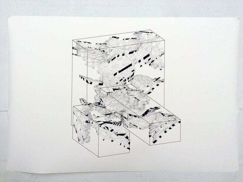 Peter Macapia, 'Multiverse (5-c)', 2016, Print, Archival inkjet print on cotton rag, Friends Seminary Benefit Auction