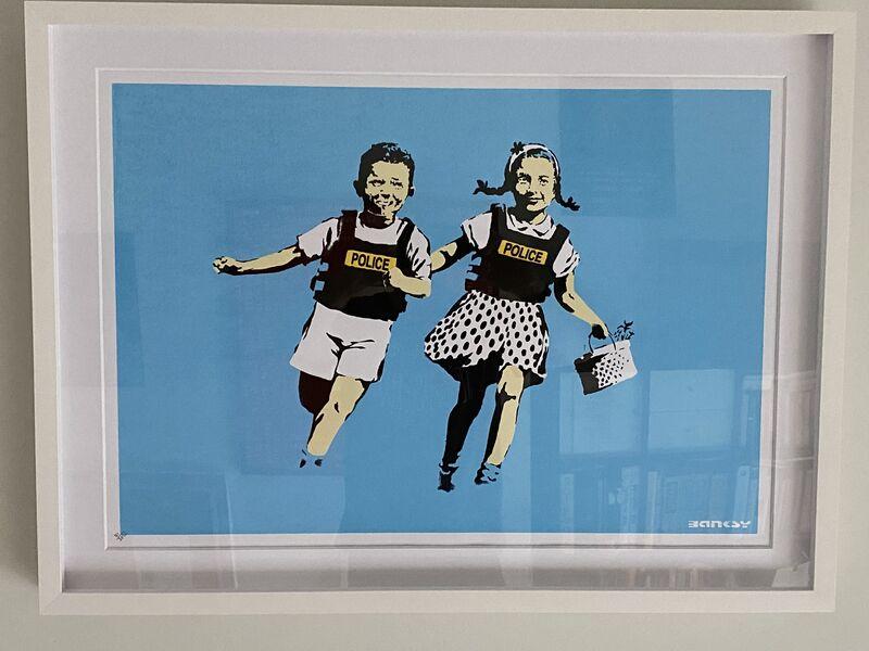 Banksy, 'Police Kids', 2005, Print, Screenprint in colors on wove paper, MoonStar Fine Arts Advisors