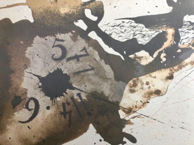 Salvador Dalí, 'Mene, Tekel, Parsin, 'Mane, Thecel, Phares', Biblia Sacra', 1967, Print, Original Lithograph, Inviere Gallery