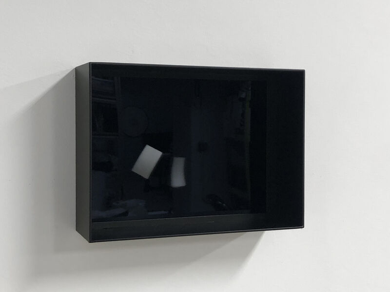 Zilvinas Kempinas, 'Analog', 2020, Video/Film/Animation, Video (color, sound), painted aluminum frame, bitforms gallery