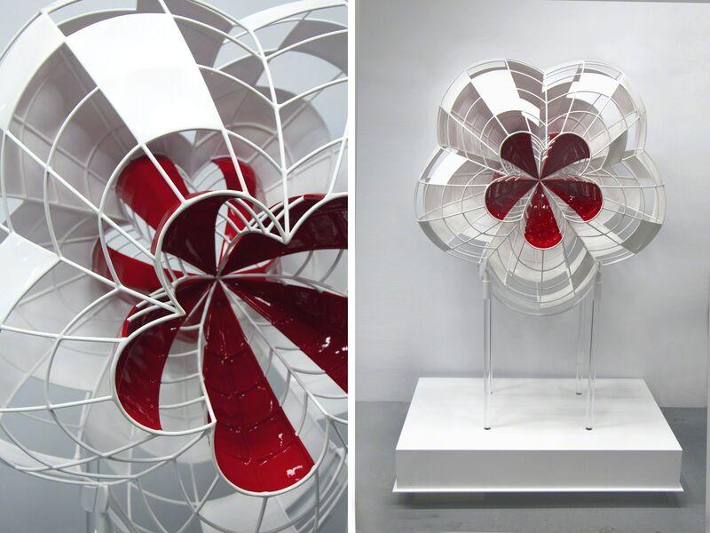 Xiaojing Yan 閆曉靜, 2013, Sculpture, Steel, enamel, paint + base, Lonsdale Gallery