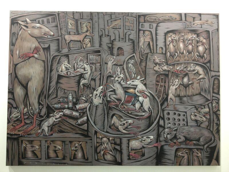 Yarno, 'The Rodent, AoC', 2013, Painting, Galeri Apik