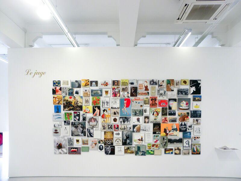 Zhou Tiehai, 'Le juge', 2008, Painting, 158 paintings, ShanghART