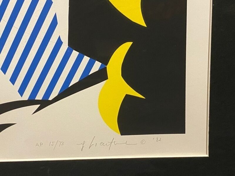 Roy Lichtenstein, 'I Love Liberty', 1982, Print, Silkscreen in colors on Arches 88 paper, Artsy x Capsule Auctions