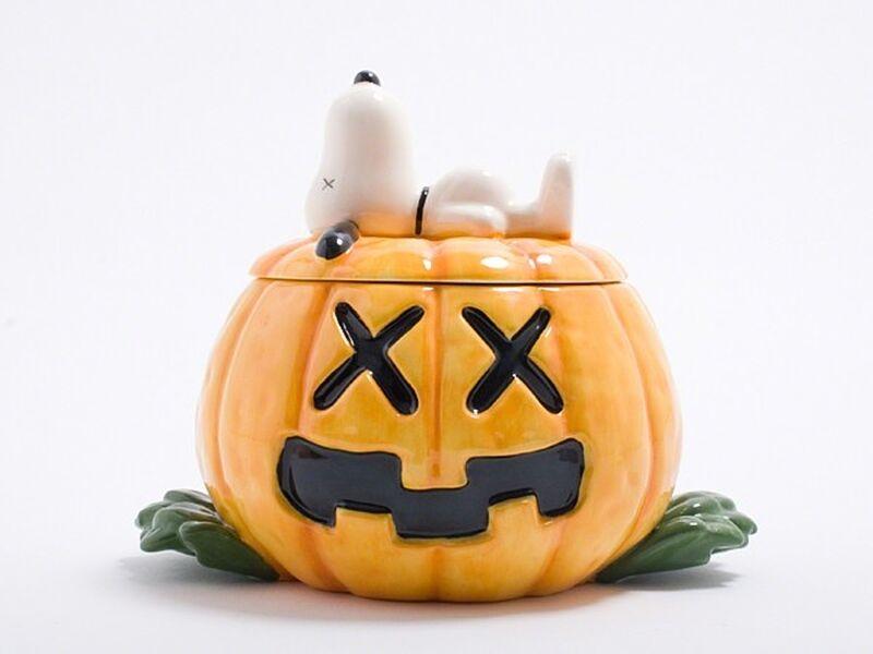 KAWS, 'Great Pumpkin (Snoopy Ceramics)', 2012, Sculpture, Ceramic, Lougher Contemporary