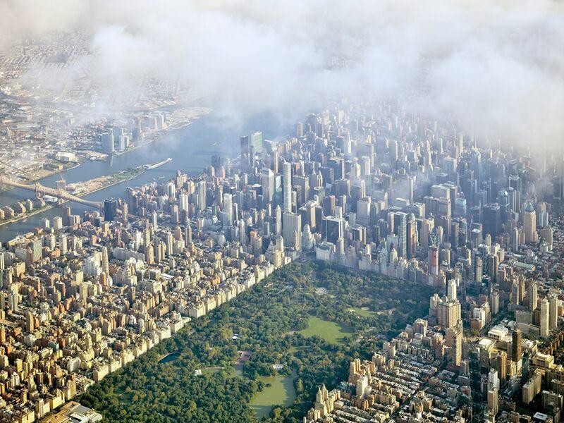 Jeffrey Milstein, 'NYC Horizon 23 Central Park - NY Aerials', 2016, Photography, Archival pigment print, ARTITLEDcontemporary