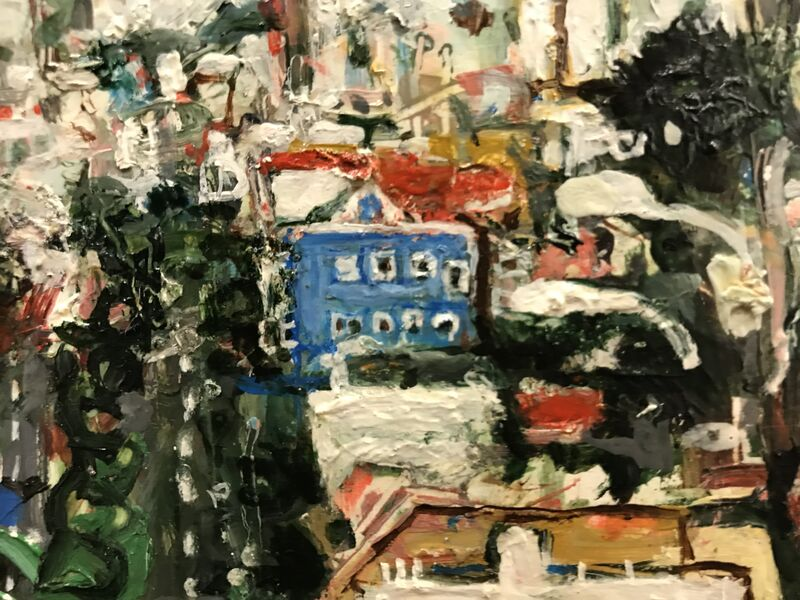 Marjorie Scholl, 'Jersey Meets Dolores St.', 1997, Painting, Acrylic on Wood Box, McVarish Gallery