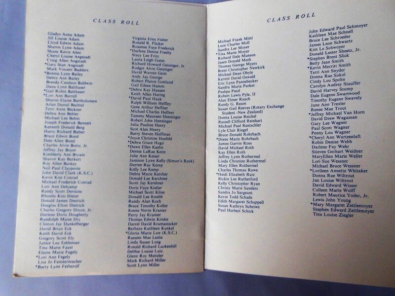 Keith Haring, 'Kutztown Area Senior High School, 1976, Graduation Commencement Program & Invitation, RARE', 1976, Ephemera or Merchandise, VINCE fine arts/ephemera