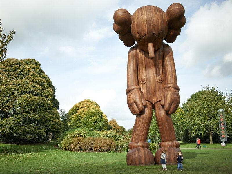 KAWS, 'Small Lie - Brown', 2017, Sculpture, Vinyl, paint, Blackline Gallery