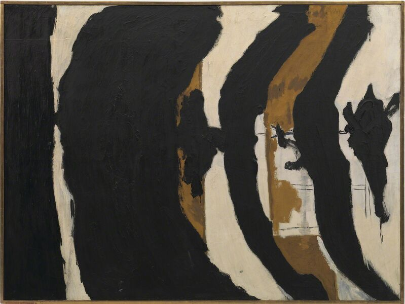 Robert Motherwell, 'Wall Painting No. III', 1953, Painting, Oil on canvas, Guggenheim Museum Bilbao