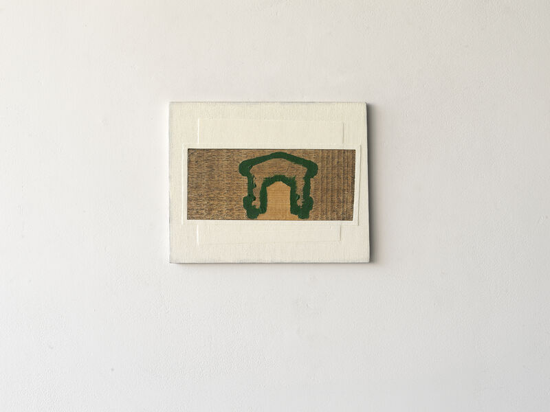 Paul Wallach, 'Pass by Through', 2020, Sculpture, Wood, gauze, paint, Jeanne Bucher Jaeger