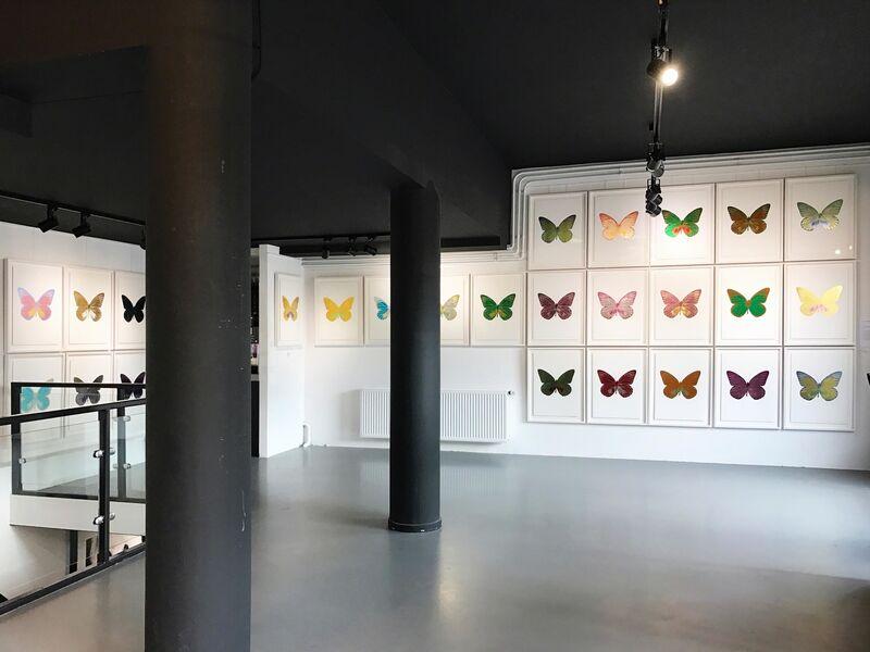 Damien Hirst, 'The Souls I, Imperialpurple-Orientalgold', 2010, Print, Foilblock Print, Kunsthuis Amsterdam