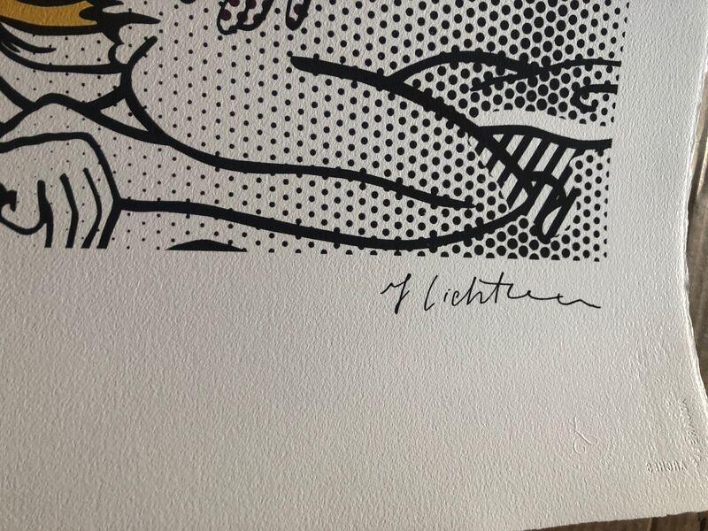 Roy Lichtenstein, 'Two Nudes', 1994, Print, Serigraph, Leviton Fine Art