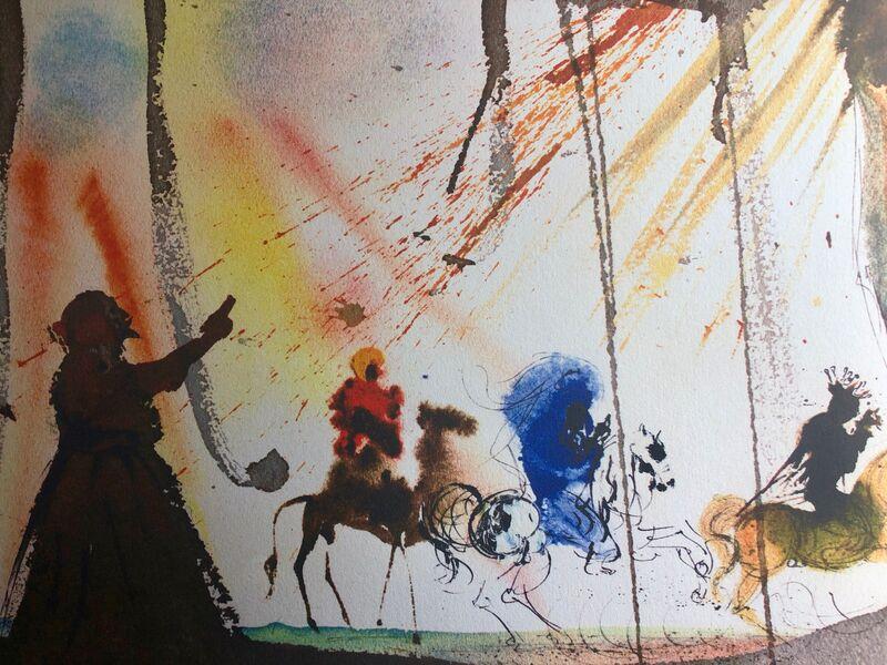 Salvador Dalí, 'They Will All Come From Saba, 'Omnes De Saba Venient', Biblia Sacra', 1967, Print, Original Lithograph, Inviere Gallery