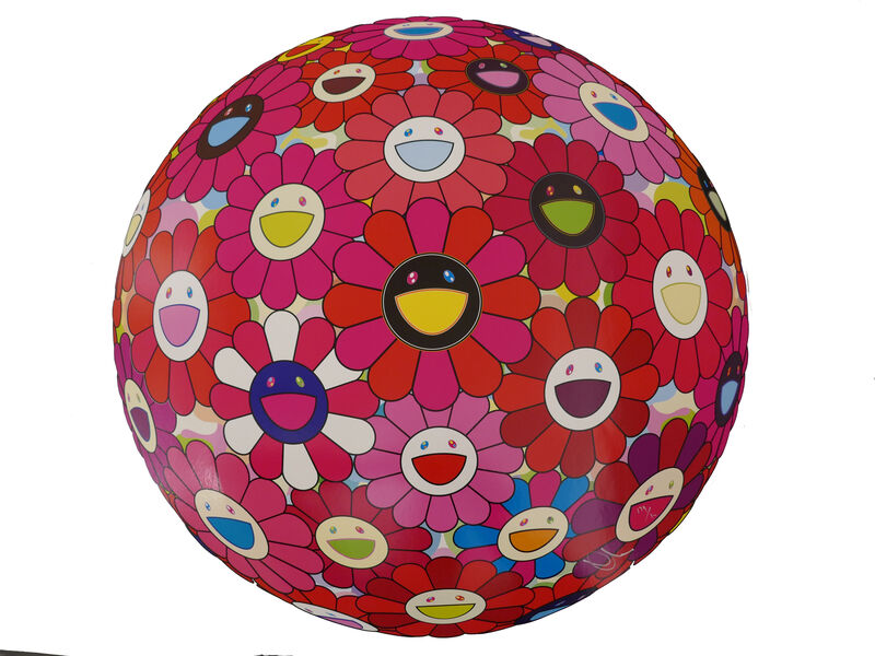 Takashi Murakami, 'Flowerball (3D) - Letter To Picasso', 2014, Print, Lithograph, @Whatever Artspace