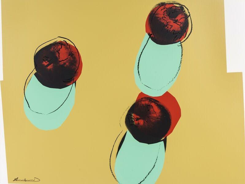 Andy Warhol, 'Space Fruit: Apples (Feldman and Schellmann II.200)', 1979, Print, Screenprint in colours, Forum Auctions