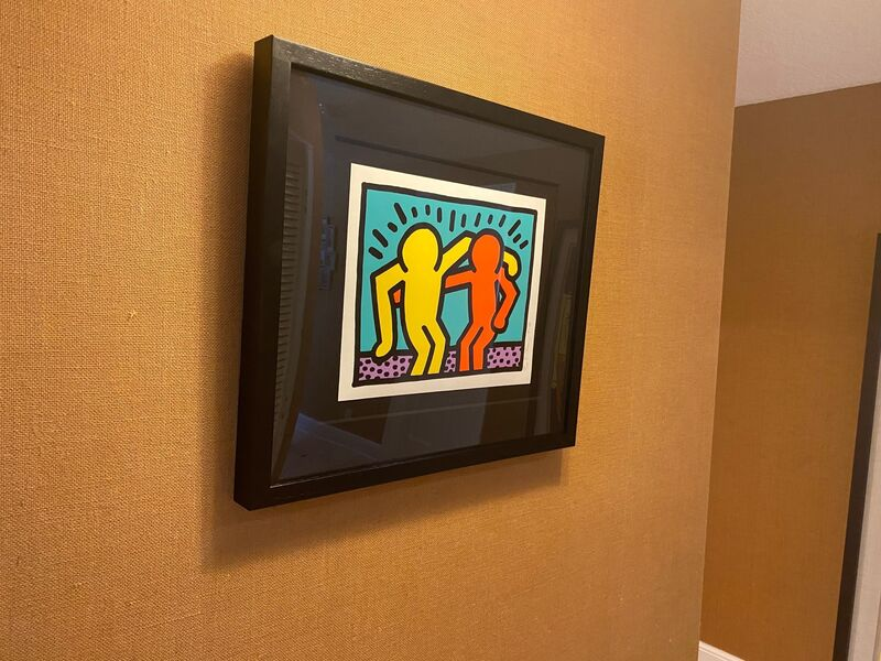 Keith Haring, 'Pop Shop I ', 1987, Print, Screenprint in colors, on Coventry rag paper, Fine Art Mia