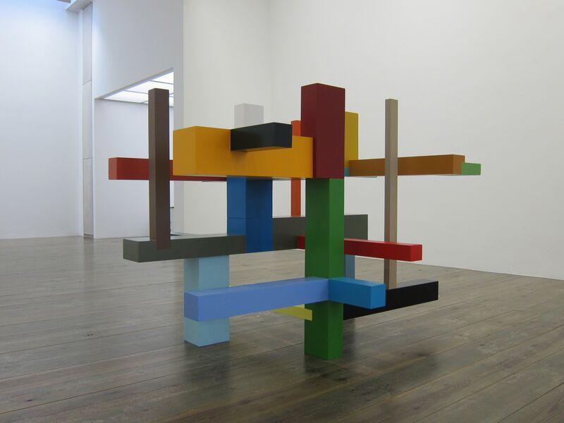 Krijn De Koning, 'Verticals and Horizontals', 2015, Sculpture, Painted wood, Slewe Gallery