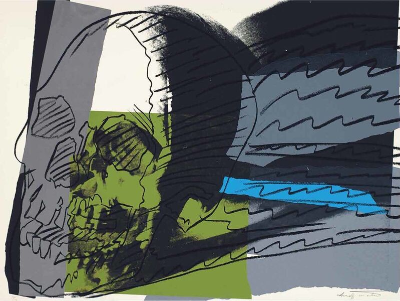 Andy Warhol, 'SKULL II.160', 1976, Print, Screenprint on Strathmore Bristol paper, OSME Fine Art
