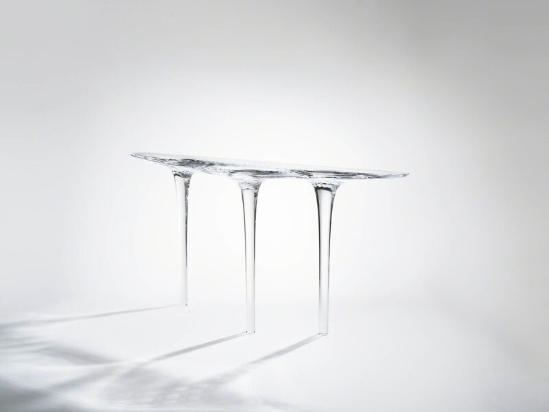 Zaha Hadid, 'Console 'Liquid Glacial 1'', 2016, Design/Decorative Art, Acrylic, David Gill Gallery