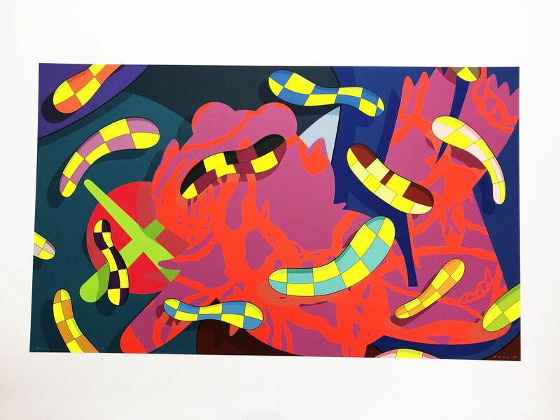 KAWS, 'Lost Time, Alone Again, Far Far Down', 2018, Print, Portfolio of three silkscreen prints, Lougher Contemporary Gallery Auction