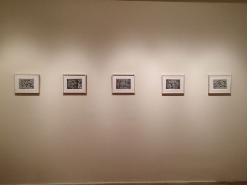 Mary Reilly, '2000 Toke', 2014, Drawing, Collage or other Work on Paper, Graphite on paper, Garvey | Simon