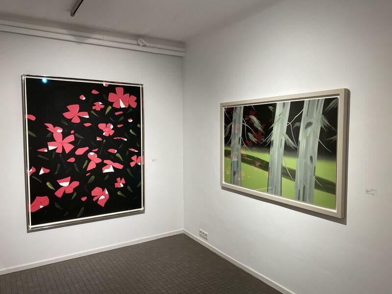 Alex Katz, 'White Impatiens', 2016, Print, 26 colour silkscreen on paper, Galerie Schimming