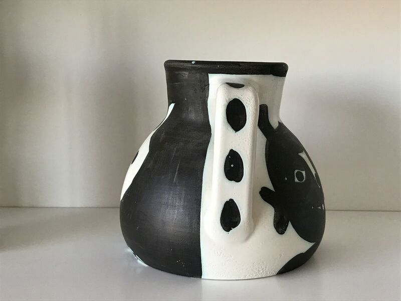Pablo Picasso, 'TÊTES [HEADS] (A.R. 367)', 1956, Sculpture, Painted and partially glazed ceramic pitcher, Jason McCoy Gallery