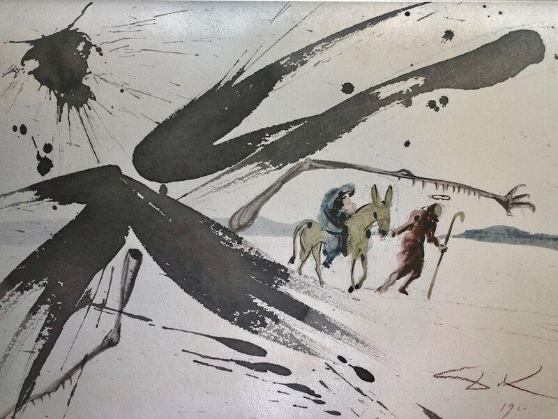 Salvador Dalí, 'Out Of Egypt I have Called My Son, 'Ex Egypto Vocavi Filium Meum', Biblia Sacra', 1967, Print, Original Lithograph, Inviere Gallery