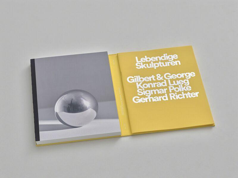 Gilbert and George, 'Lebendige Skulpturen   Gilbert & George, Konrad Lueg, Sigmar Polke, Gerhard Richter', 2018, Books and Portfolios, Sies + Höke