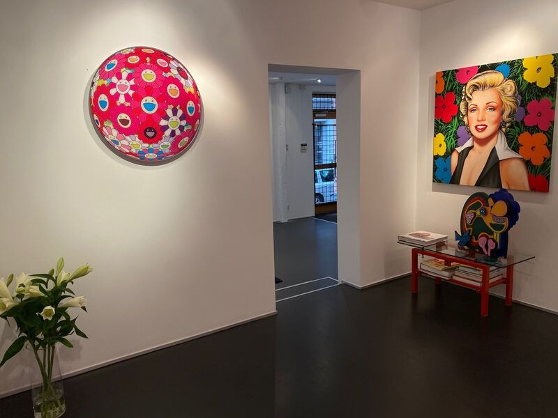 Takashi Murakami, 'Flower Ball (3D) Turn Red! ', 2013, Print, Offset print, Galleri GKM