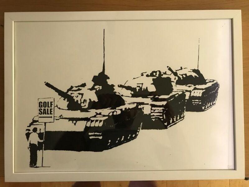 Banksy, 'Golf Sale', 2003, Print, Screen-print on wove paper, MoonStar Fine Arts Advisors