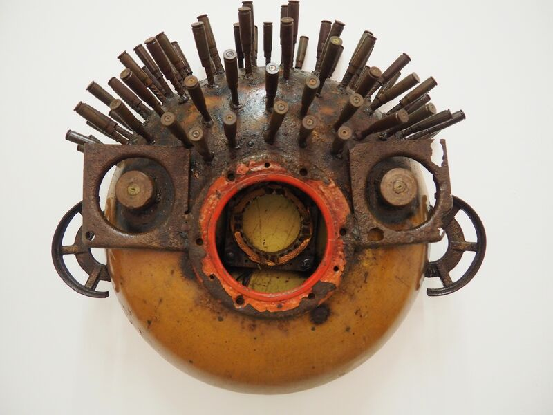 Gonçalo Mabunda, 'Read Voice', 2016, Mixed Media, Recycled iron weapons of the civil war, Collectionair