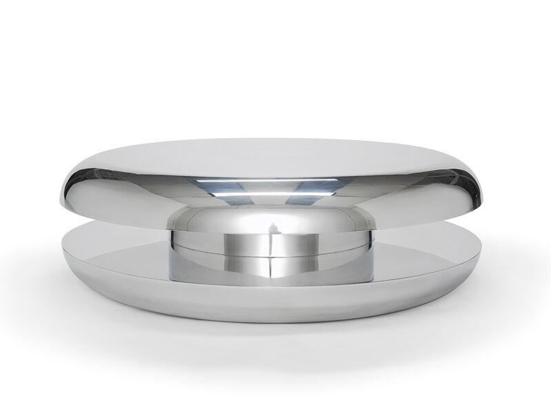 Mattia Bonetti, 'Coffee Table 'Yo-Yo'', 2008, Design/Decorative Art, Stainless steel, David Gill Gallery