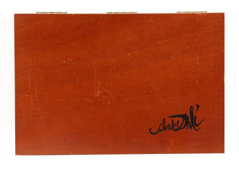 Salvador Dalí, 'Wailing Wall - Baruch B Ha Shem', ca. 1970, Sculpture, Cast Metal Menorah Sculpture in Box, RoGallery