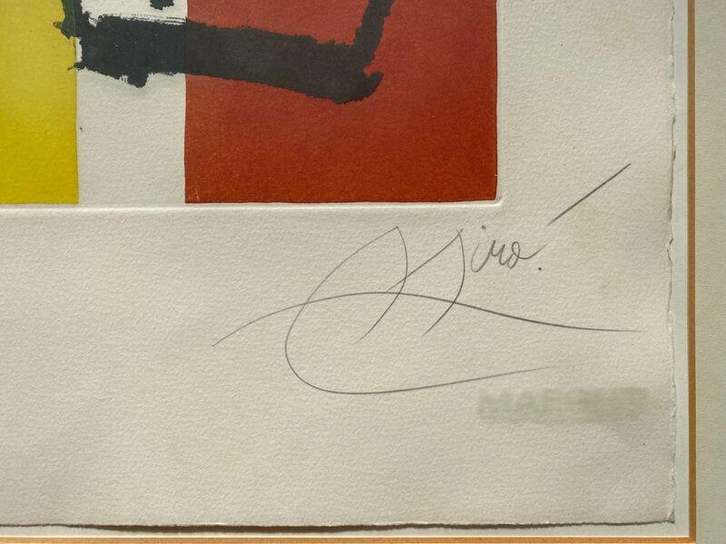 Joan Miró, 'Chanteurs des Rues IV', 1981, Print, Original aquatint on wove paper, Samhart Gallery