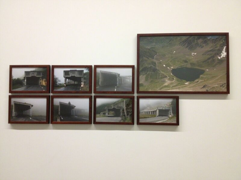Arrieta - Vázquez, 'siete falsos túneles y un ibón', 2013, Photography, 7 color photographs; 23 x 33 cm and 1 color photograph; 49 x 72 cm, adhoc
