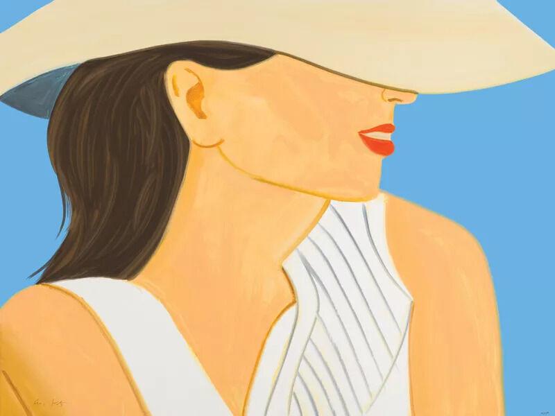 Alex Katz, 'Vivien with Hat', 2021, Print, Archival pigment print, Vogtle Contemporary